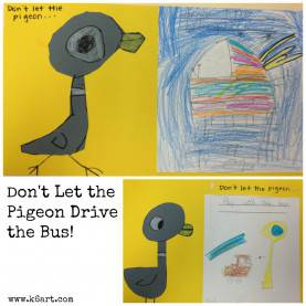 Unusual Kindergarten Art Sub Plans Don'T Let The Pigeon Drive The Bus: Post Includes Video Of Book S
