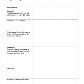 Unusual Learn Lesson Plan Template Standard Based Lesson Plans Template | Standards Based Lesso
