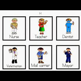 Unusual Lesson Plan About Community Helpers For Kindergarten Community Helpers Cutpaste Worksheet 5. Community Helper