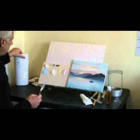 Unusual Oil Painting Courses Live Online Art Classes Webinar - Oil Painting Sunset Pt1 - You