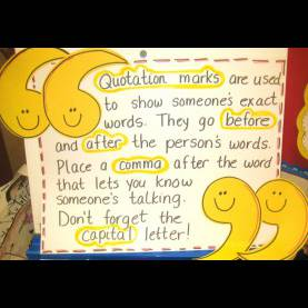 Unusual Quotation Lesson Plans 3Rd Grade Dialogue - Quotation Marks - Mrs. Warner'S 4Th Grade Class