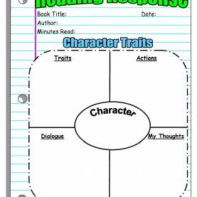 Unusual Reading Lesson Plans With Graphic Organizers Instant Lesson Plans For Any Book (Perfect For Substitute