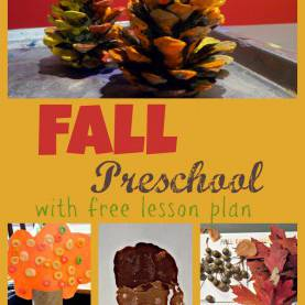 Unusual Tree Theme Preschool Lesson Plan Fall Theme Preschool Week With Free Printable 2 Day Lesson Pla