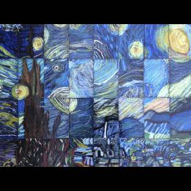 Unusual Vincent Van Gogh Elementary Art Lesson Plans Masterpiece Mosaics: A Collaborative Art Project For Grades K €?