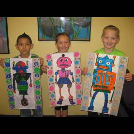 Useful 1St Grade Art Lesson Plans Jamestown Elementary Art Blog: 2Nd Grade da Vinci Invented Robot