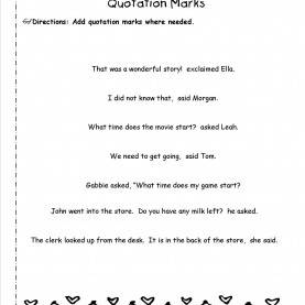 Useful 2Nd Grade Lesson Plans For Quotation Marks Wonders Second Grade Unit Four Week Two Print