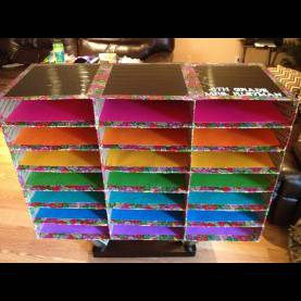 Useful Classroom Mailbox Ideas My Diy Classroom Mailboxes Using Flat Rate Shipping Boxes And Duc
