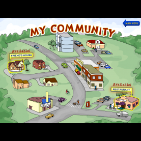 Useful Community Pictures For Preschoolers Ssb My Community Section - Activity Ta