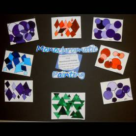 Useful Creative Arts Grade 7 Lesson Plan Carrie'S Arts Spot: Monochromatic Painting 5Th-6Th Grade Lesso