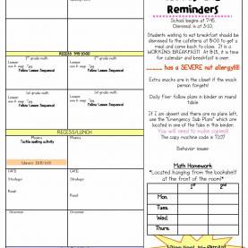 Useful Elementary Teacher Lesson Plan Book Bunting, Books, And Bright Ideas*: I'Ll Show You Min