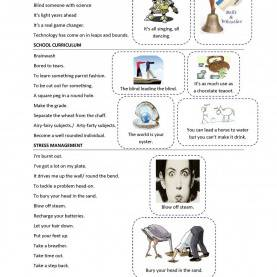 Useful English Lesson Plan Grade 10 Trinity Gese Grade 10: Idioms | English Class | Pinteres