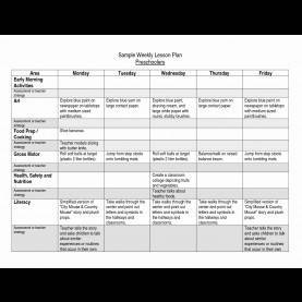 Useful Free Pre K Lesson Plans Worksheets For All   Download And Share Worksheets   Free O