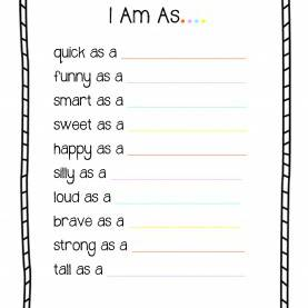 Useful Free Printable Toddler Curriculum All About Me 'I Am' Worksheet : Preschool And Toddler Lesson Pla