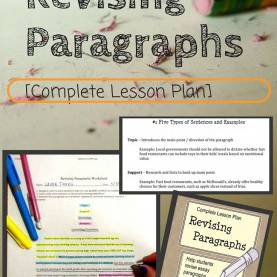Useful How To Make Lesson Plan For Revision Revising Paragraphs In Essays | Paragraph, Worksheets And Stud