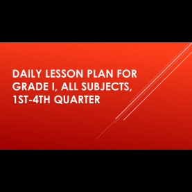 Useful Lesson Plan Sample In Filipino Grade 3 Ready Made Lesson Plans For Grade 3, All Subject For Q1-Q4   Depe