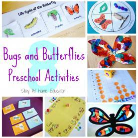 Useful Pre K Lesson Plans Bugs Bugs And Butterfies Theme Preschool Activi