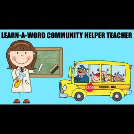 Useful School Community Helpers Community Helpers Teacher Learn A Word Spelling With Paw Patro