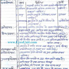 Useful Science Lesson Plan In Hindi Lesson Plan Semester 3 Class 4 Subject - ???िन्दी - Eyes