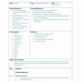 Useful Siop Lesson Plan History 48 Fresh Which Way Home Lesson Plan - House Floor Plans - Hous
