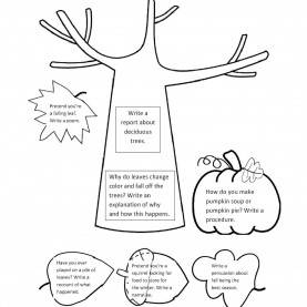 Useful Teaching Children About Autumn Ilma Education: Spring And Fall Writing Prompts Download Sh