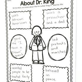 Valuable 1St Grade Lesson Plans For Martin Luther King Jr Martin Luther King In 1St Grade - The Brown Bag Tea