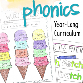 Valuable 2Nd Grade Beginning Of The Year Lesson Plans 2Nd Grade Phonics Year Long Bundle | Phonics, Curriculum An