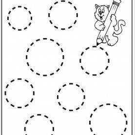 Valuable Activity For Pre School Tracing Circle Worksheets For Preschool | Activity Shelter | Kid