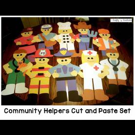Valuable Community Helpers Theme Community Helpers Crafts Bundle | Community Helpers, Community An