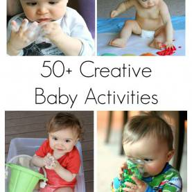 Valuable Creative Arts Activities For Mobile Infants 50+ Creative Activities For Ba