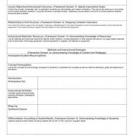 Valuable Daily Lesson Plan Form 1 English Daily Lesson Plan Template - Aradi