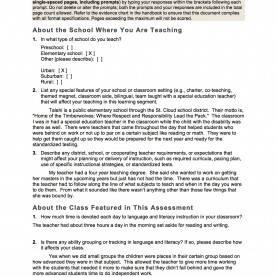 Valuable Edtpa Context For Learning Sample Edtpa Practice. | Personal Ideas | Pinterest | Teaching Idea