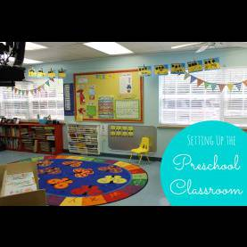 Valuable Fall Theme For Preschool Classroom Preschool Classroom Reveal - Happy Home F