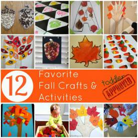 Valuable Fall Themed Activities For Preschool Toddler Approved!: 12 Favorite Fall Crafts And Activi