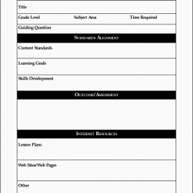 Valuable Free Lesson Plan Templates Online 9 Free Lesson Planner Template Online | Sampletempla