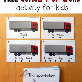 Valuable Free Vpk Lesson Plans Teach Concept Of Word With This Free Printable! - The Measure
