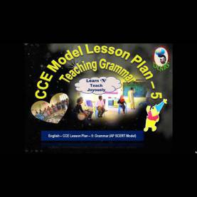 Valuable Lesson Plan For English Class 7 Cbse Cce Model Lesson Plan 5 Teaching Grammar - You