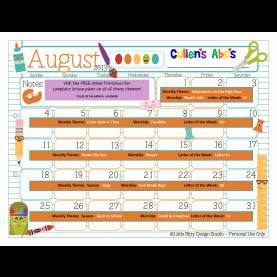 Valuable Lesson Plans For Preschool August My Home Theme Preschool Lesson Plan Best Of Preschool Calendar