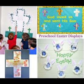 Valuable March Lesson Plans For Toddlers Princesses, Pies, & Preschool Pizzazz: Easter Displays For Chil