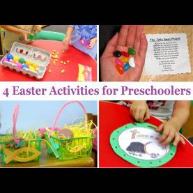 Valuable Pre K Lesson Plans On Easter Princesses, Pies, & Preschool Pizzazz: 4 More Easter Activitie