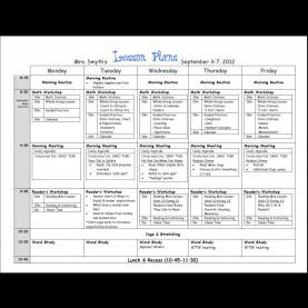Valuable Preschool Lesson Plans Patterns Sample Lesson Plan Template | Shatterlion.