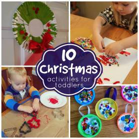 Valuable Themed Activities For Toddlers Toddler Approved!: 10 Simple Christmas Activities For Todd