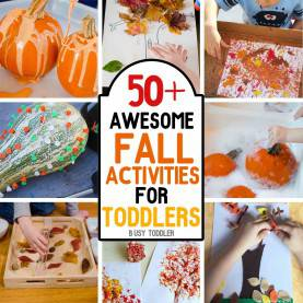 Valuable Toddler Fall Crafts Activities 50+ Awesome Fall Activities For Toddlers - Busy Tod