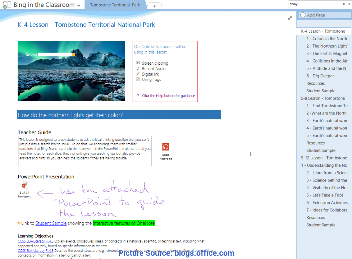 Top Lesson Plan For Teacher Training Onenote For Teachers—Training, Lesson Plans And New Languages Fo