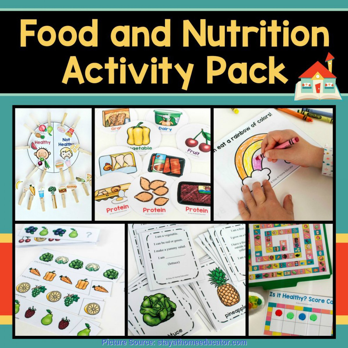 Top Pre K Lesson Plans Nutrition How To Teach Healthy Eating With A Preschool Nutrition T