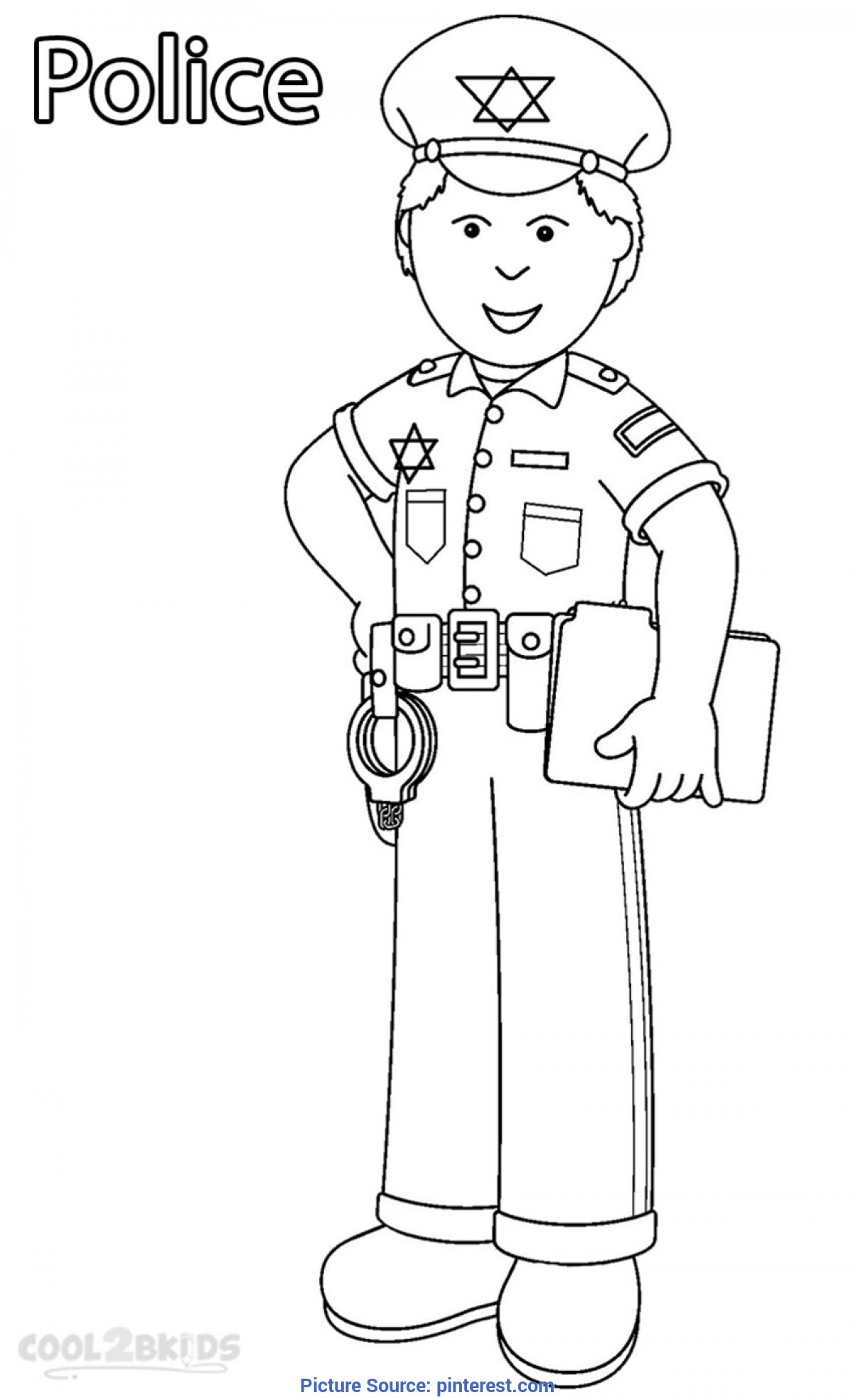 Top Printable Images Of Community Workers Printable Community Helper Coloring Pages For Kids | Cool2Bkid