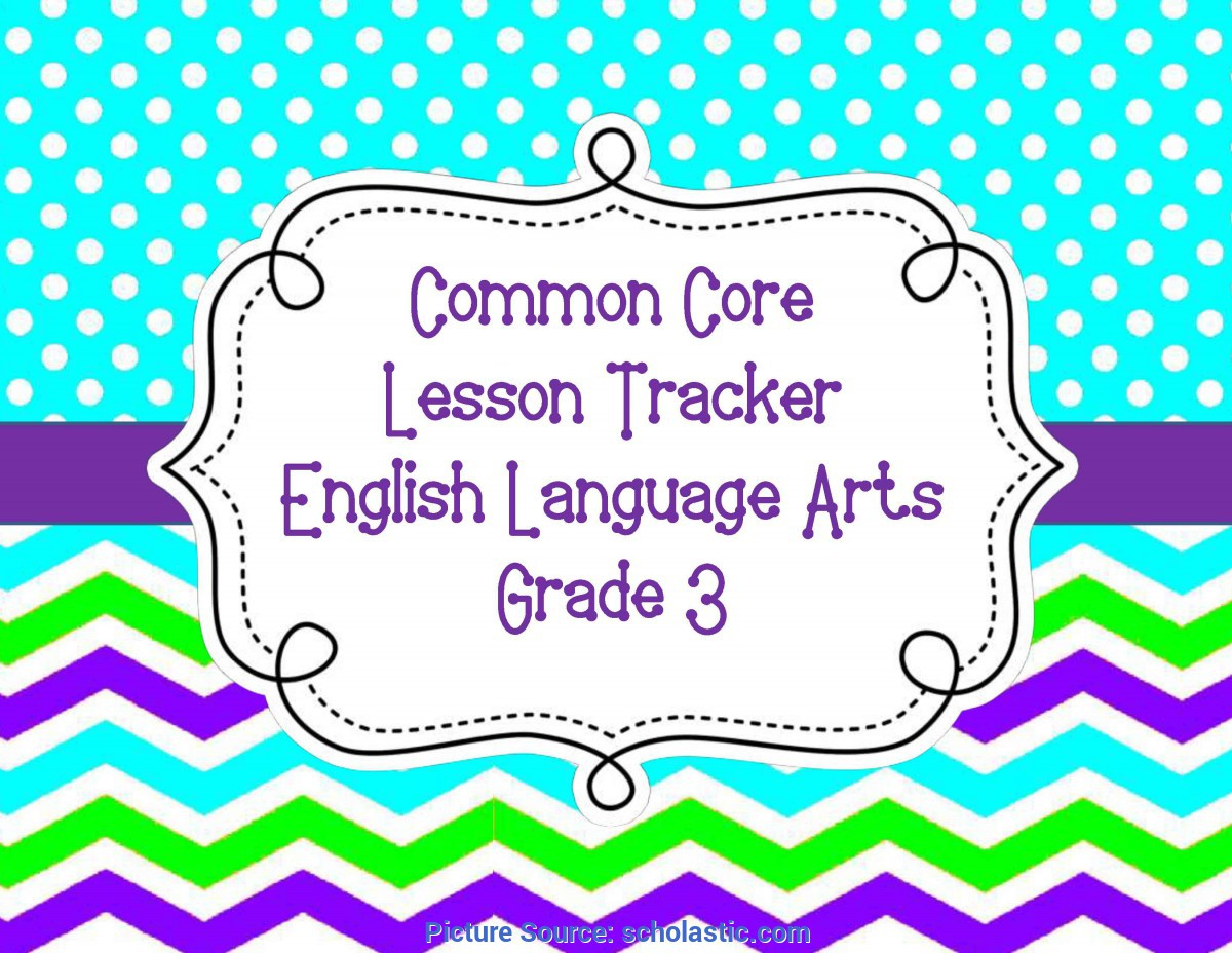 Top Third Grade Language Arts Lesson Plans Common Core Lesson Plan Organizers For Math And Ela | Schola