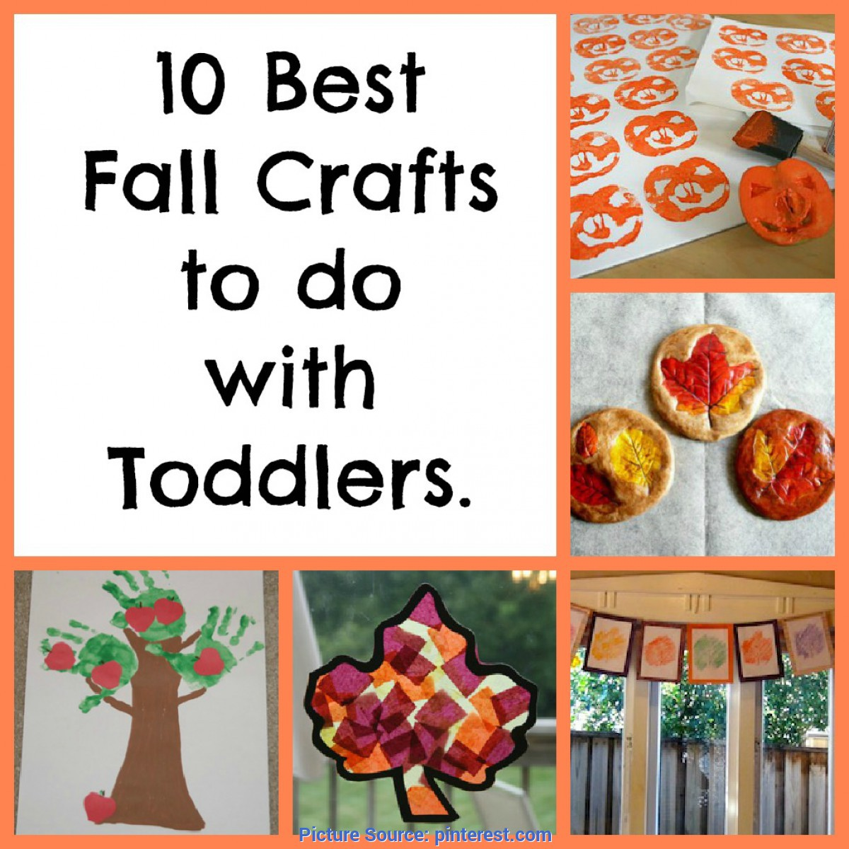 Trending Fall Artwork For Preschoolers Diapers & Daisies: Favorite Fall Art Projects To do With Toddler