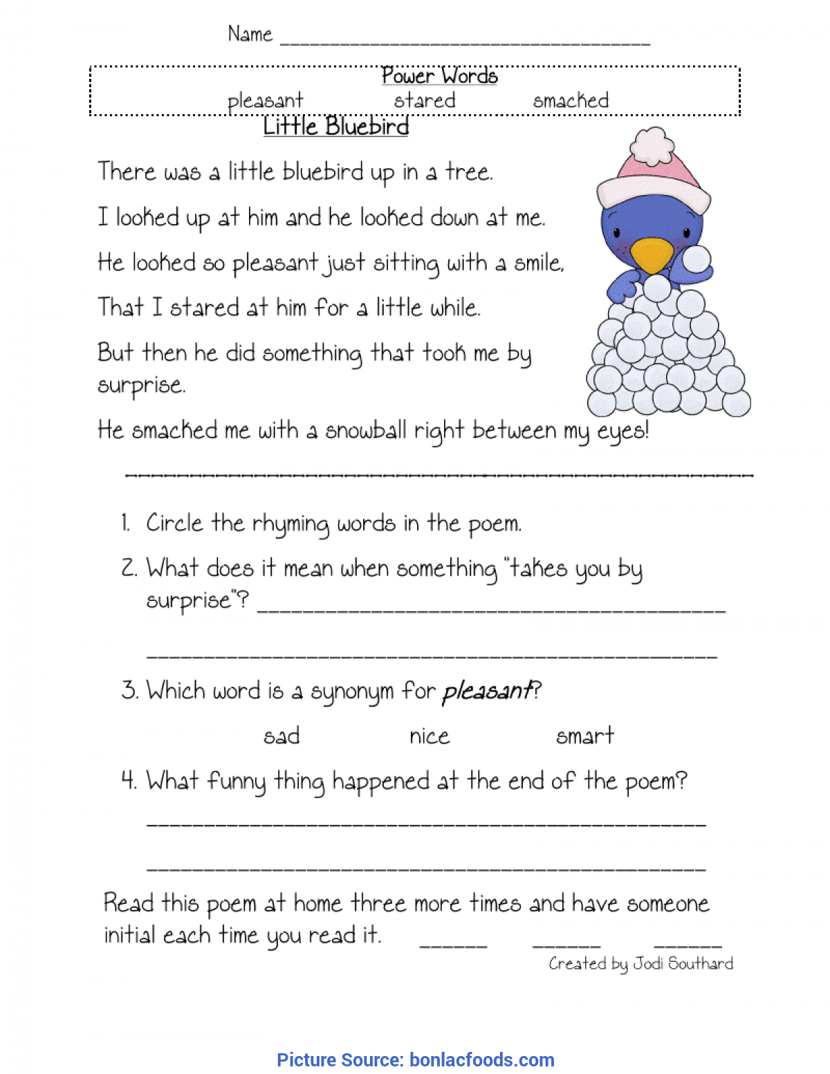 - First Grade Reading Comprehension Worksheets Have Fun - Ota Tech