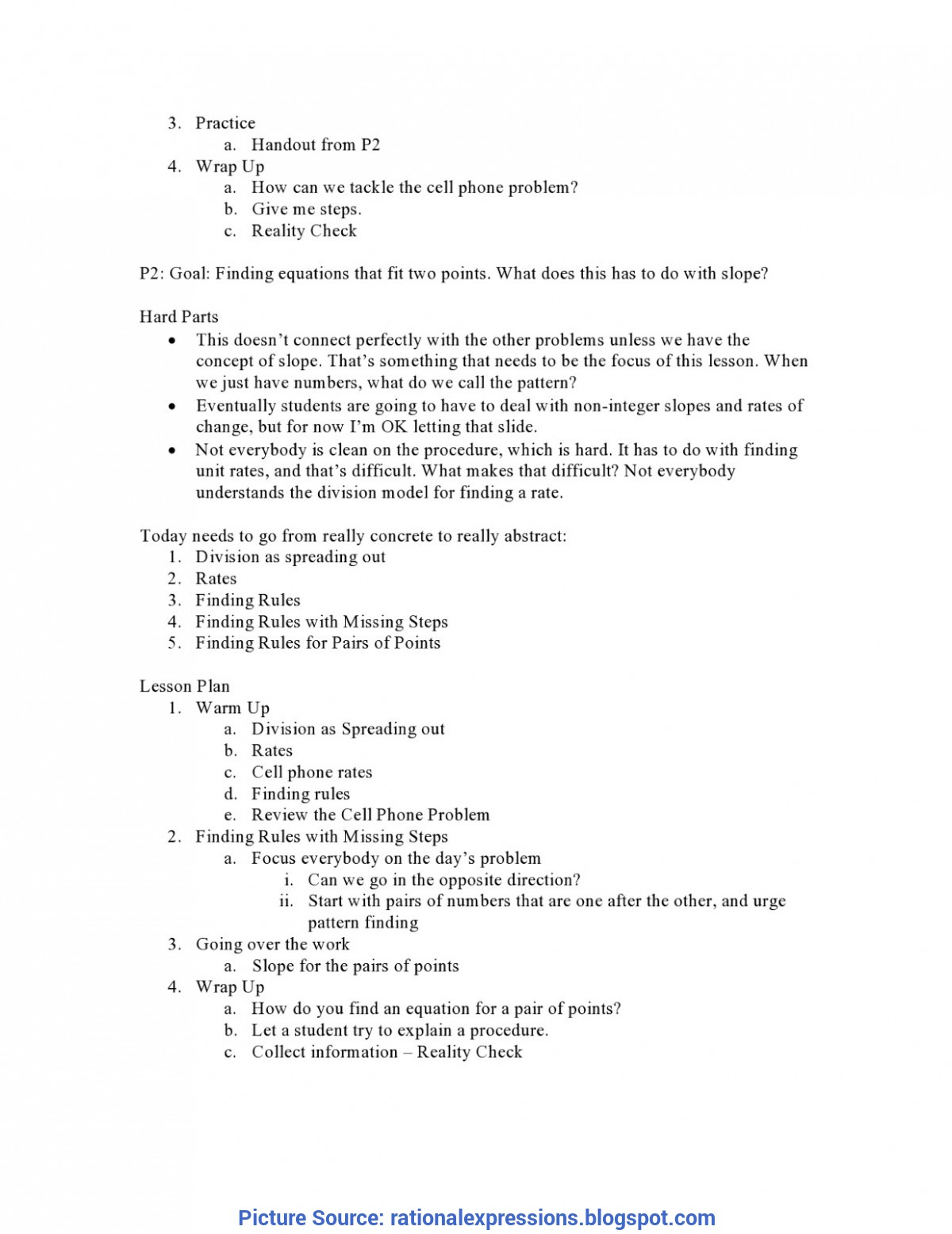 Trending How To Make A Detailed Lesson Plan In Elementary Rational Expressions: The Hard P