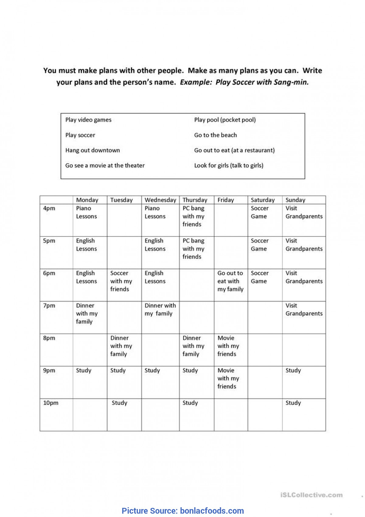 - Typical Advanced English Lesson Plans For Adults Esl Worksheets